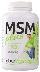 MSM plus natürliche B-Vitamine